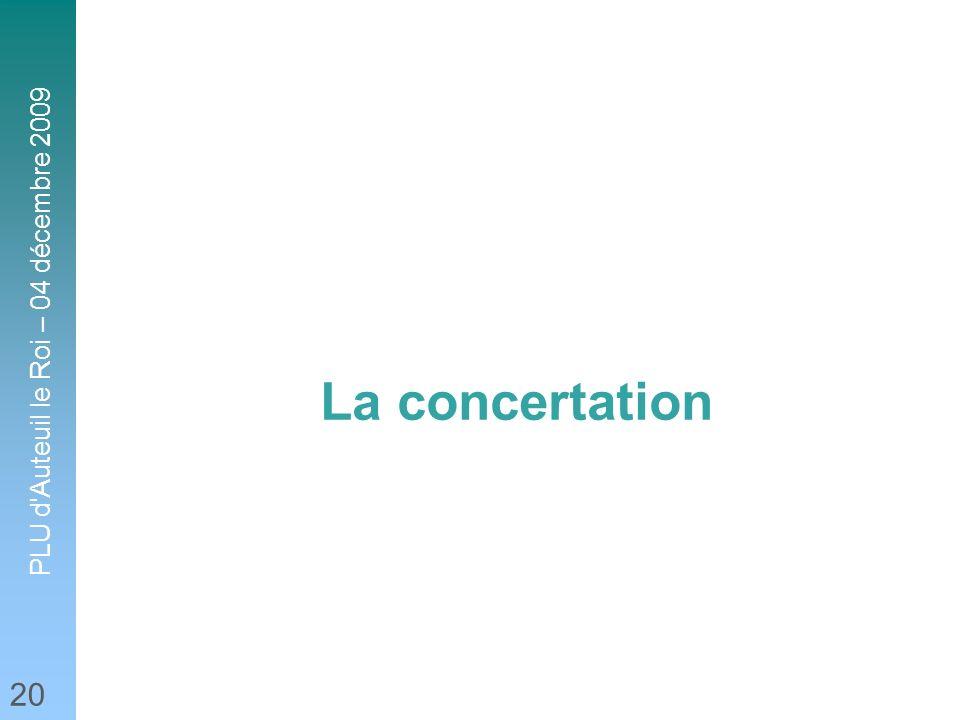La concertation 20 20 20