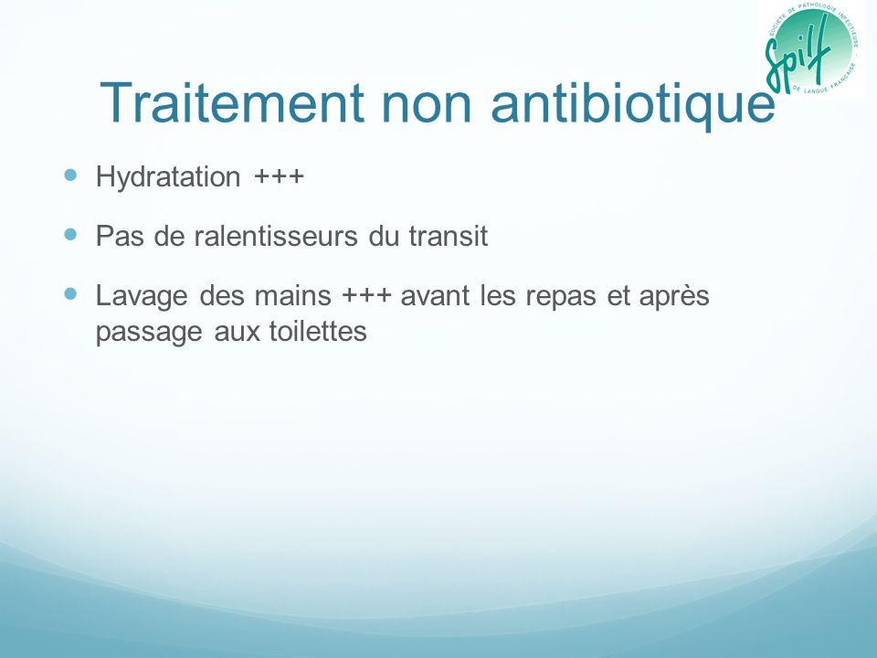 Traitement non antibiotique