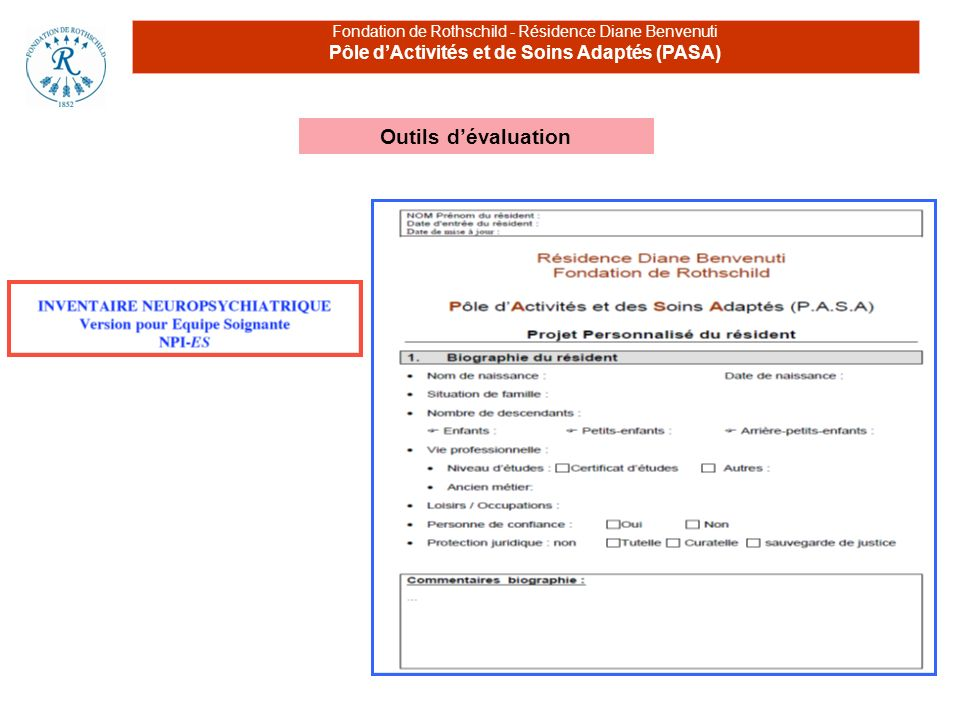 Pôle d'Activités et de Soins Adaptés (PASA)