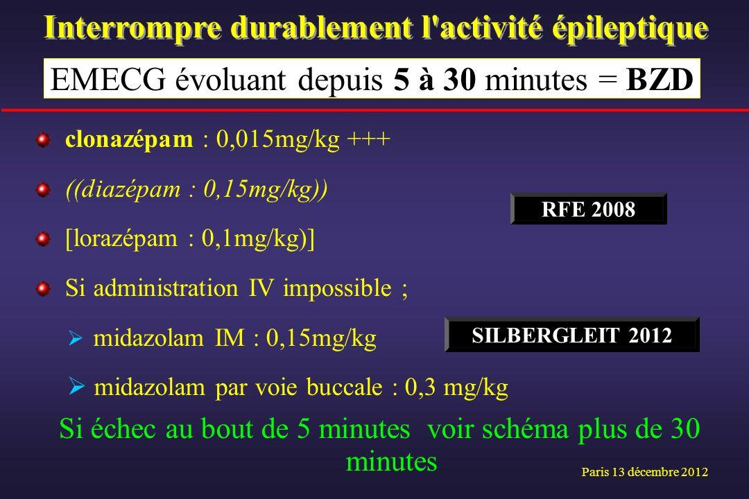 Interrompre durablement l activité épileptique