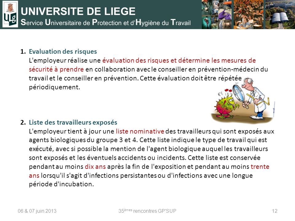 1. Evaluation des risques