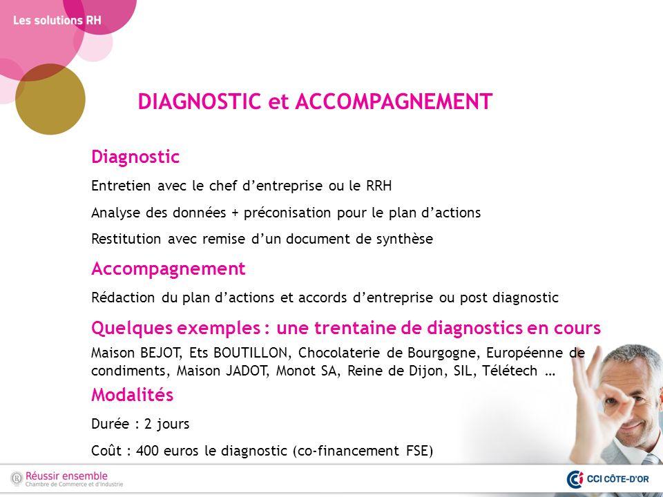 DIAGNOSTIC et ACCOMPAGNEMENT