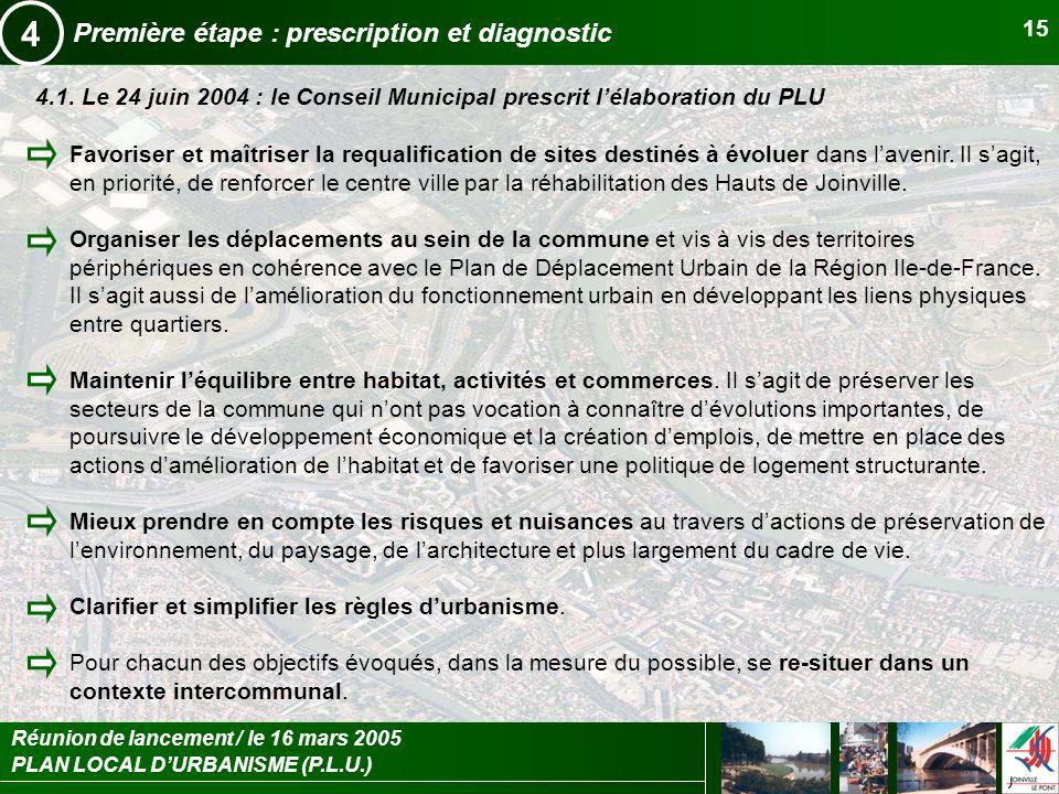 4 Première étape : prescription et diagnostic