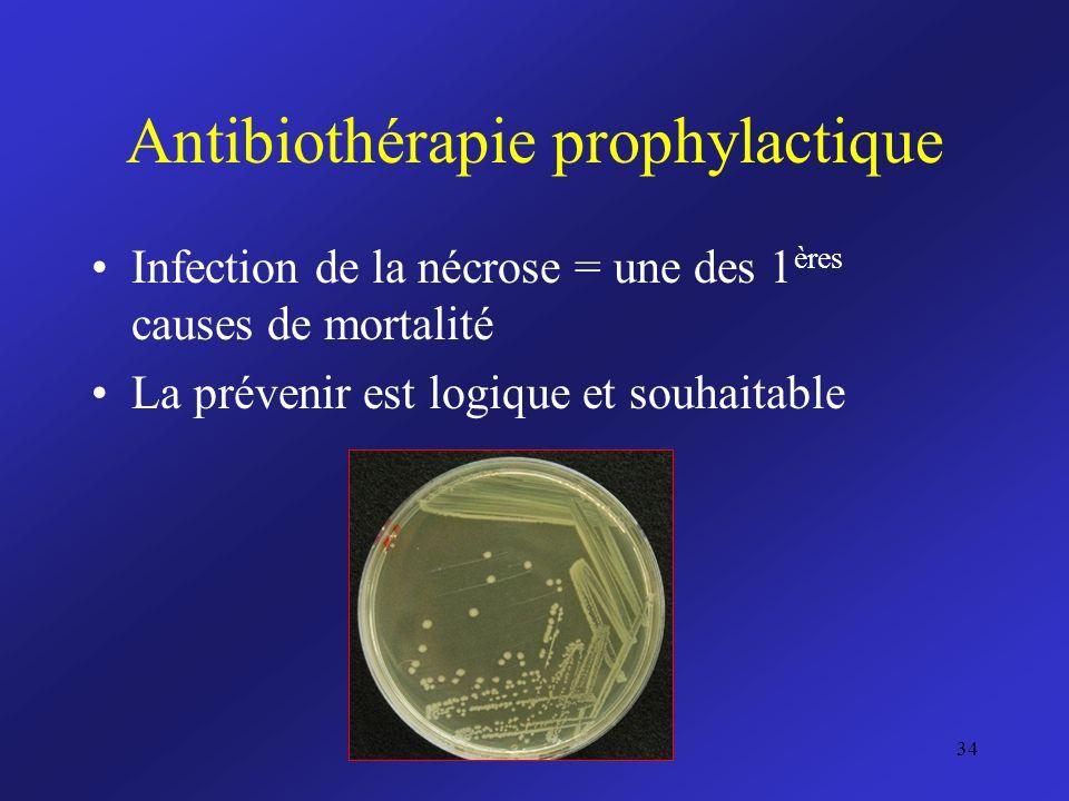 Antibiothérapie prophylactique