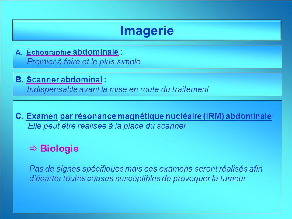 Imagerie  Biologie Premier à faire et le plus simple