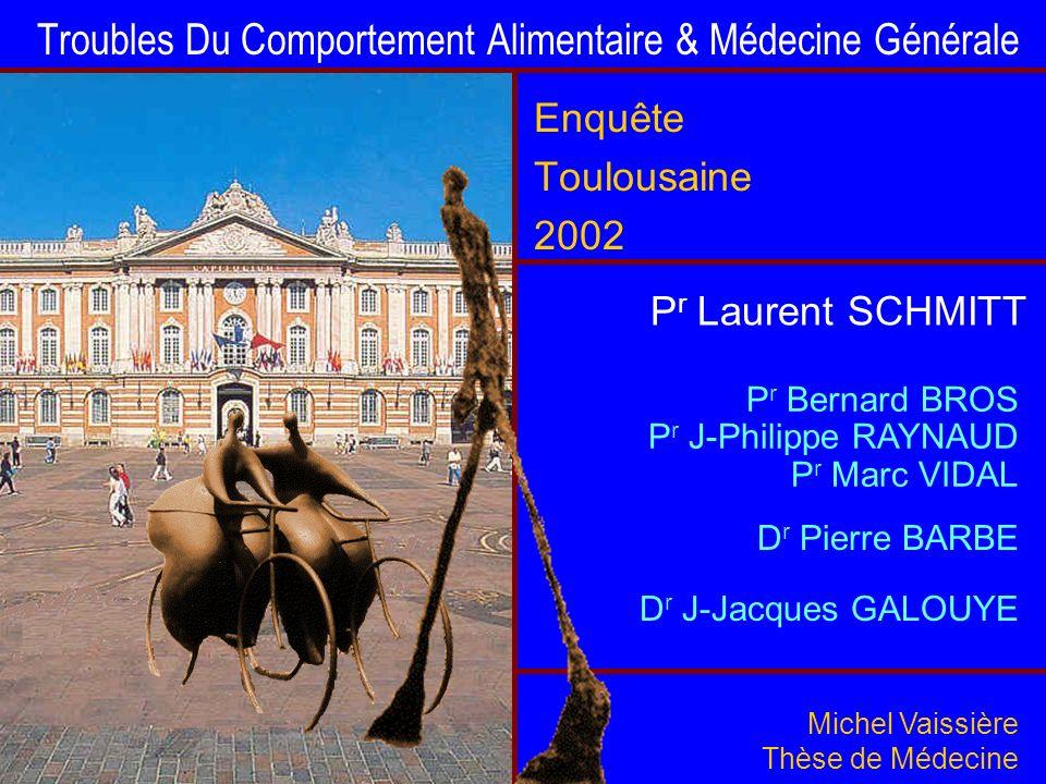 Troubles Du Comportement Alimentaire & Médecine Générale