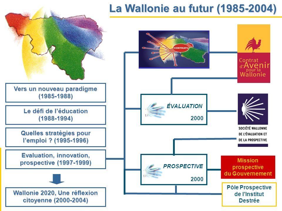 La Wallonie au futur (1985-2004)