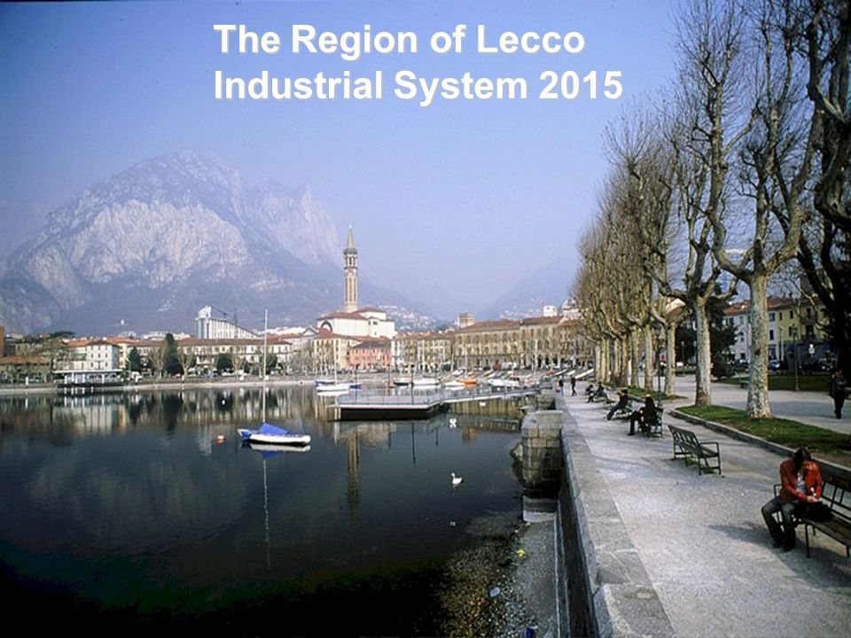 The Region of Lecco Industrial System 2015