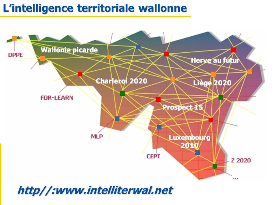 L'intelligence territoriale wallonne