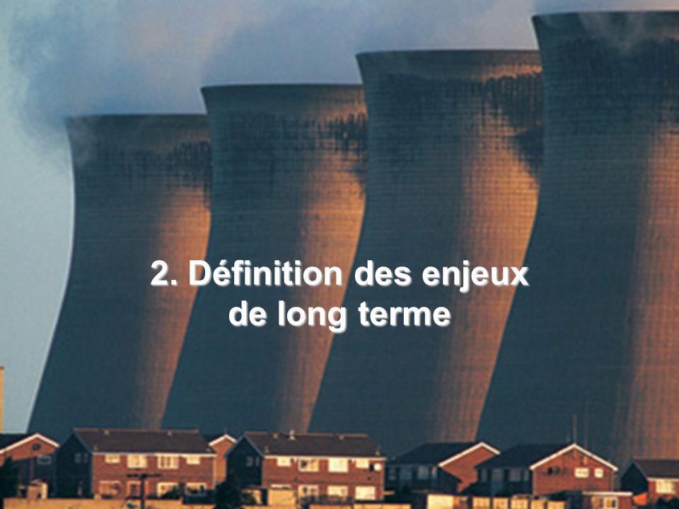 2. Définition des enjeux de long terme