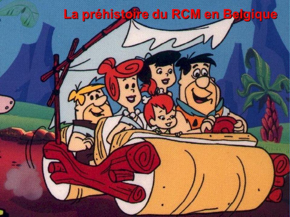 La préhistoire du RCM en Belgique