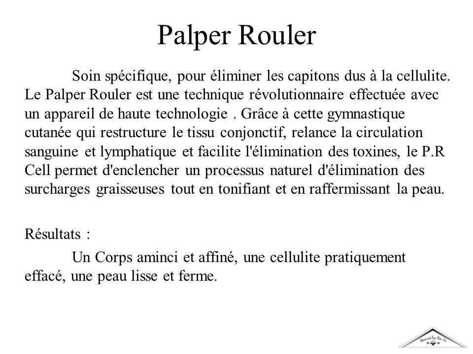 Palper Rouler