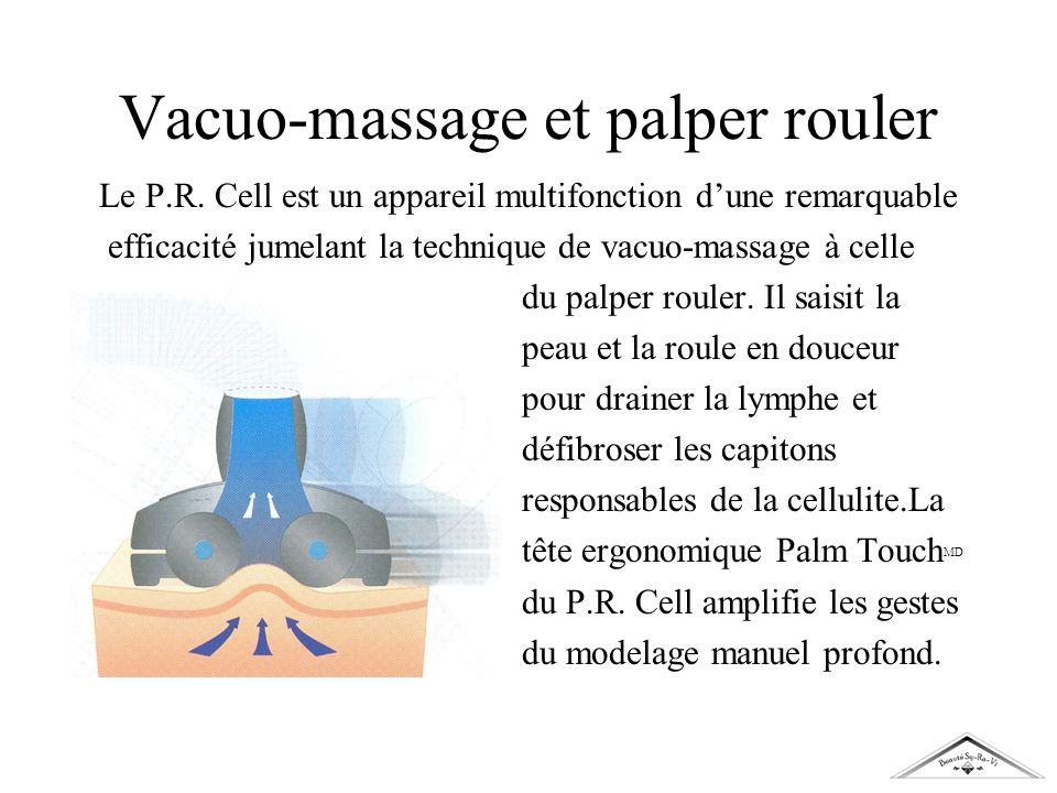 Vacuo-massage et palper rouler