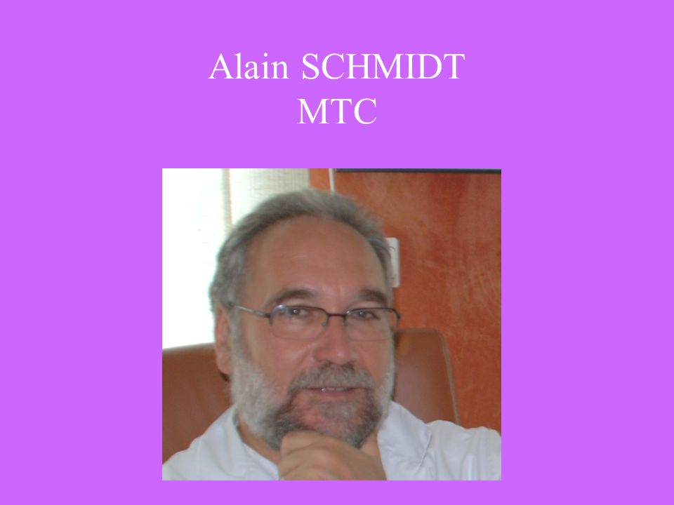 Alain SCHMIDT MTC