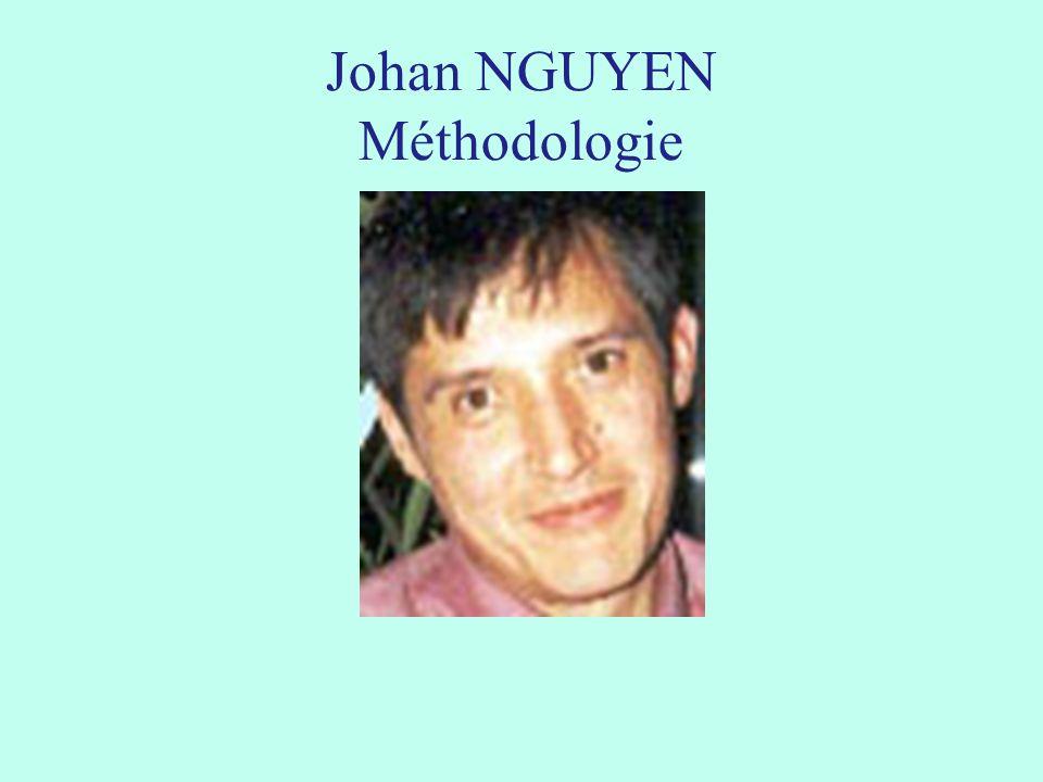 Johan NGUYEN Méthodologie