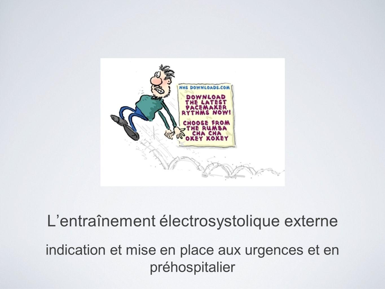 L'entraînement électrosystolique externe