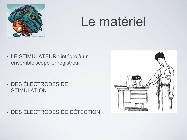 Le matériel LE STIMULATEUR : intégré à un ensemble scope-enregistreur
