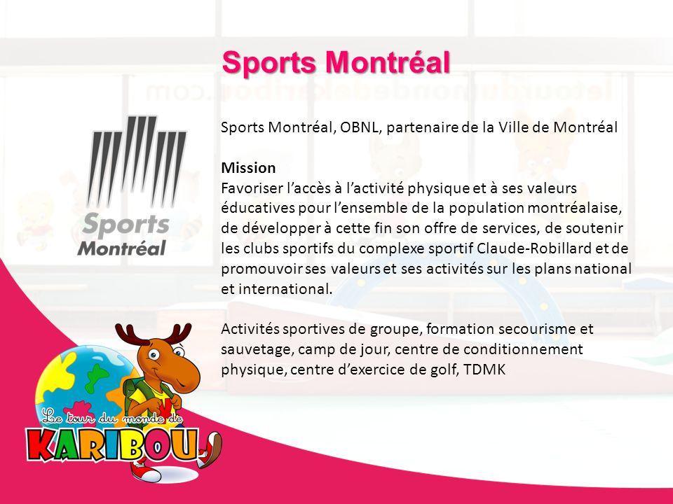 Sports MontréalSports Montréal, OBNL, partenaire de la Ville de Montréal. Mission.