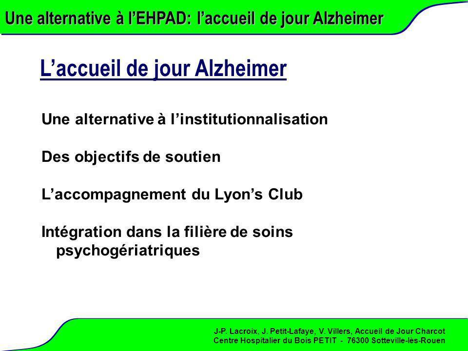 L'accueil de jour Alzheimer