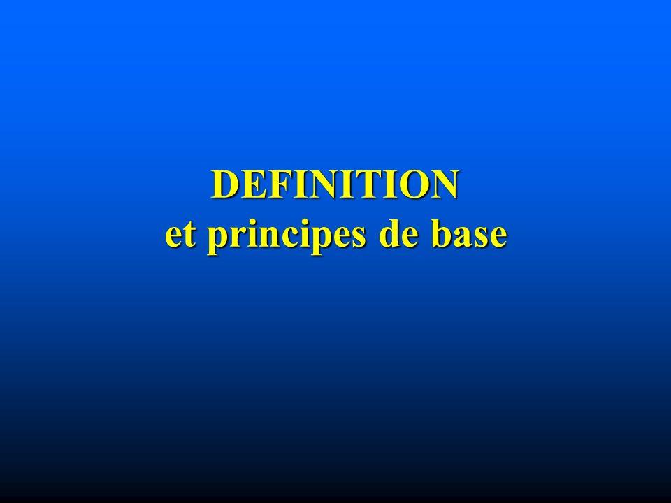 DEFINITION et principes de base
