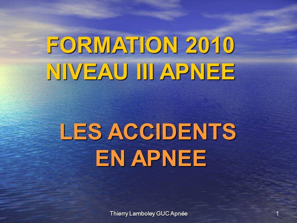 Thierry Lamboley GUC Apnée