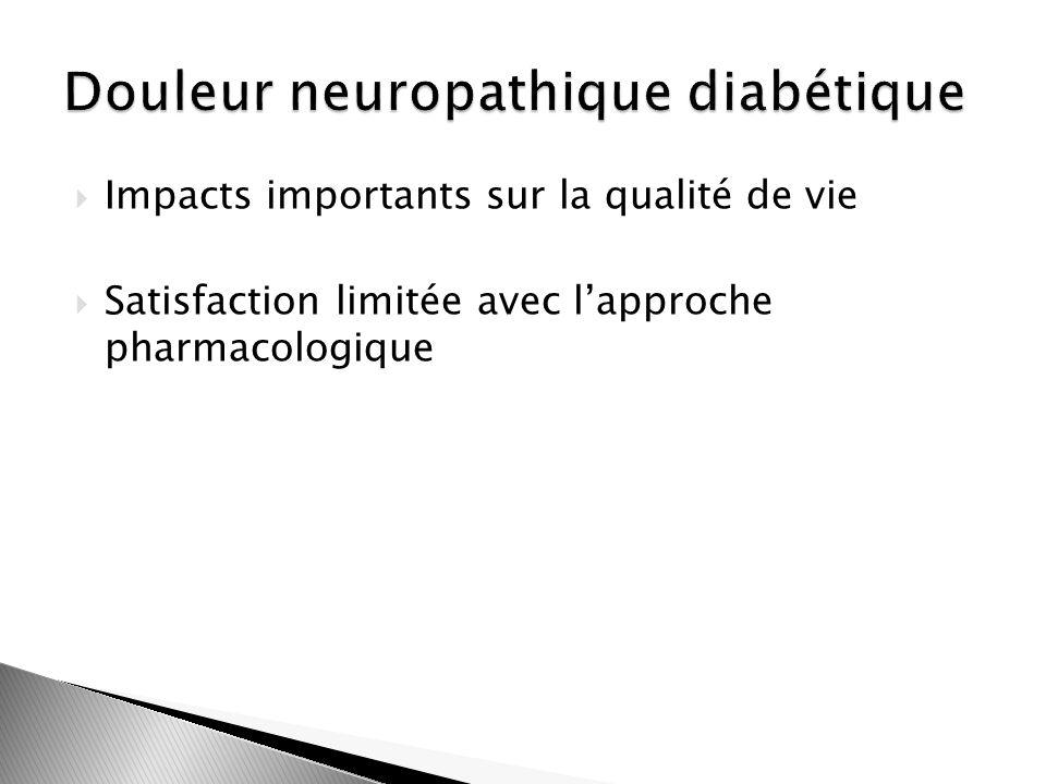 Douleur neuropathique diabétique
