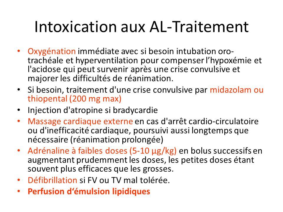Intoxication aux AL-Traitement