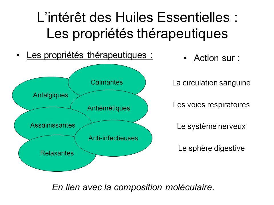 L'intérêt des Huiles Essentielles : Les propriétés thérapeutiques