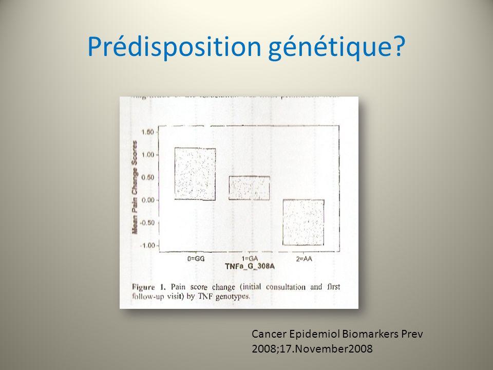 Prédisposition génétique