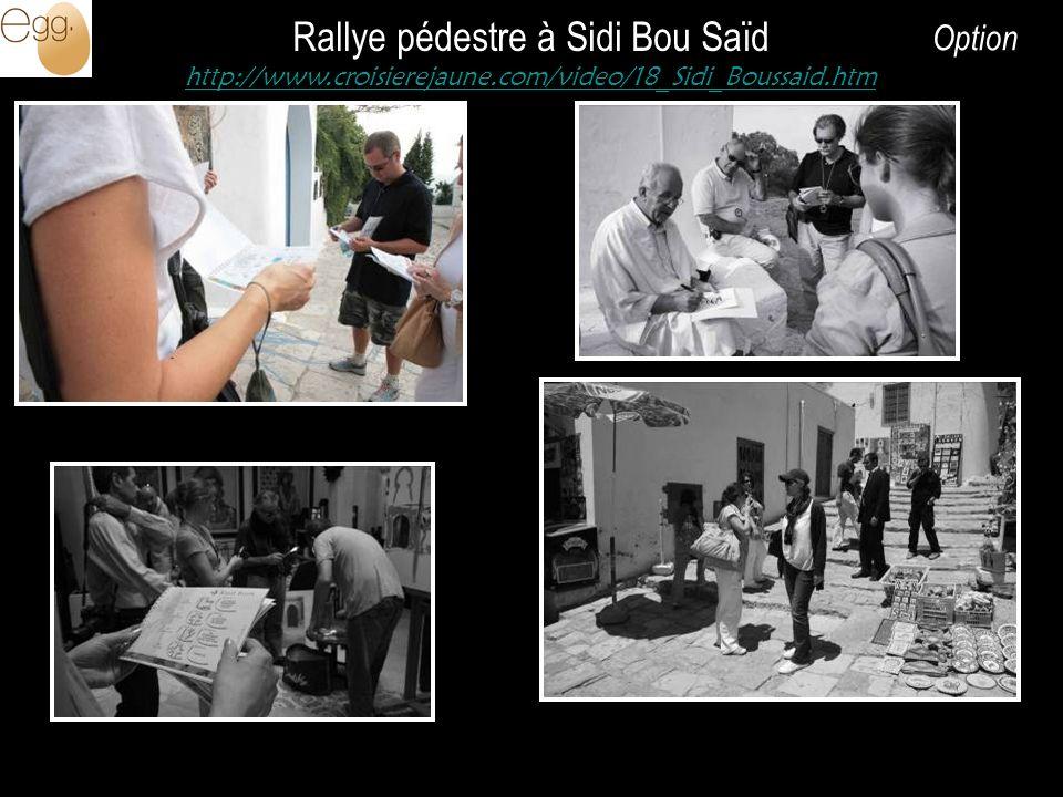 Rallye pédestre à Sidi Bou Saïd