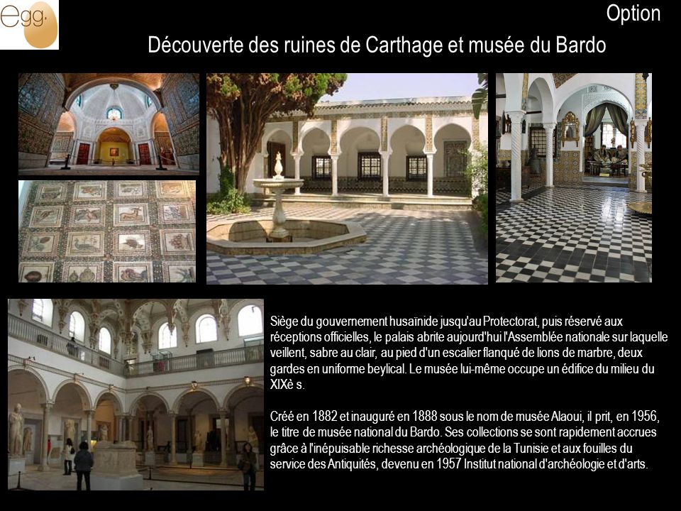 Découverte des ruines de Carthage et musée du Bardo