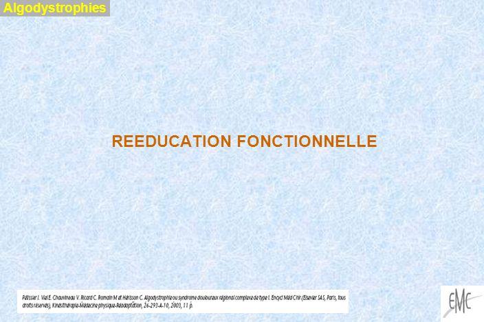 REEDUCATION FONCTIONNELLE