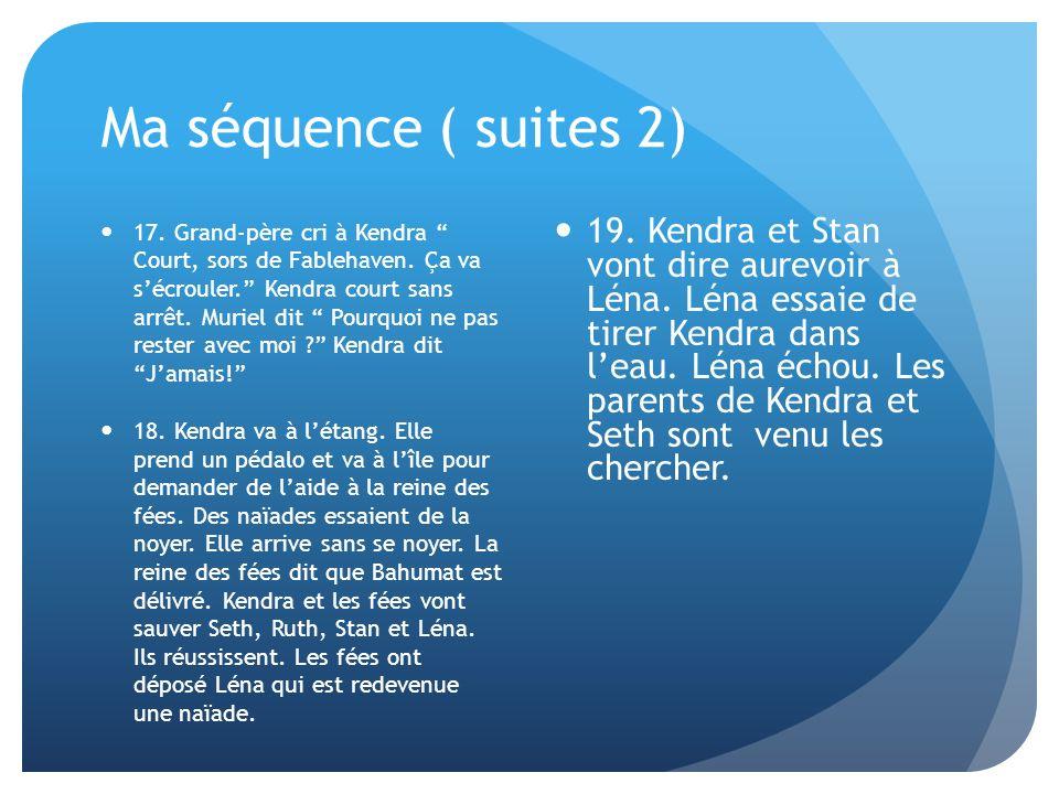 Ma séquence ( suites 2)