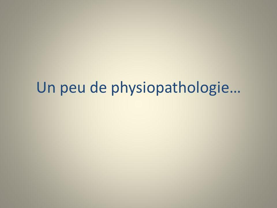 Un peu de physiopathologie…
