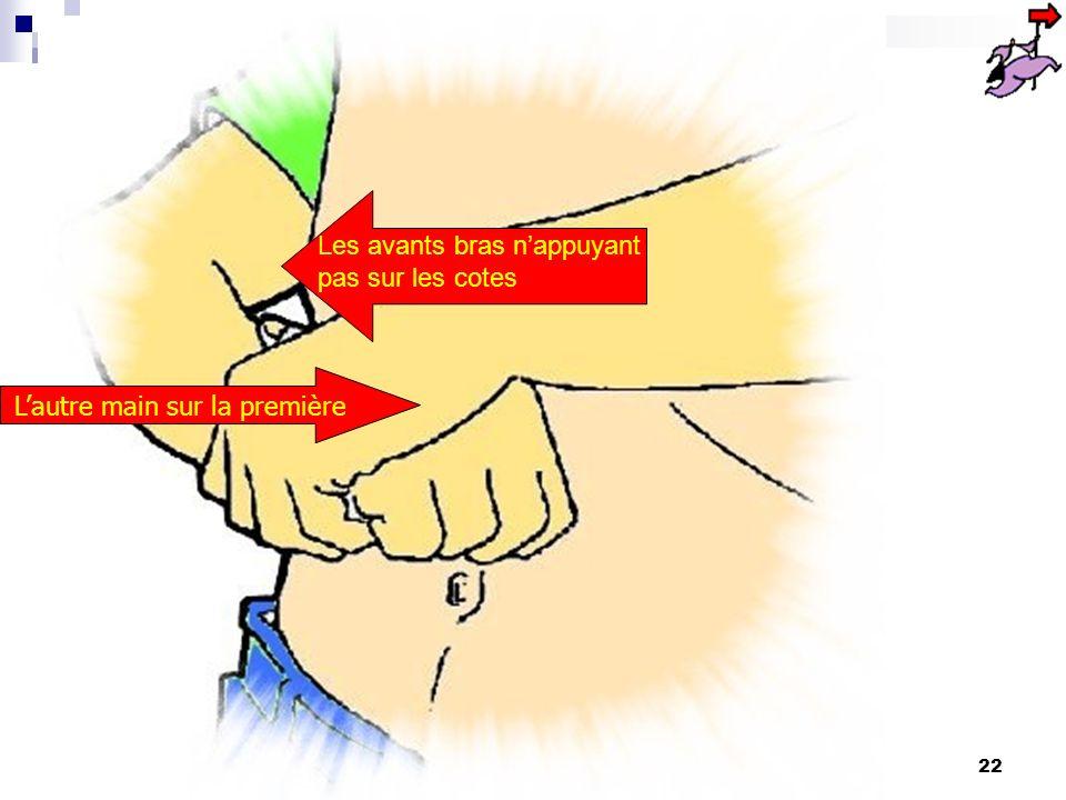 L'autre main sur la première