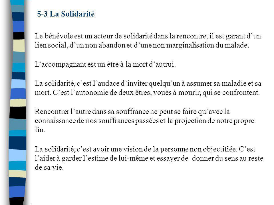 5-3 La Solidarité