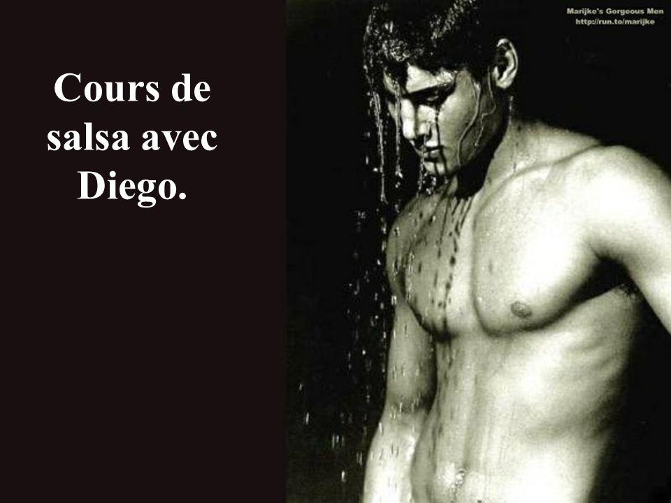 Cours de salsa avec Diego.
