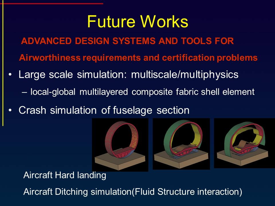Future Works Large scale simulation: multiscale/multiphysics