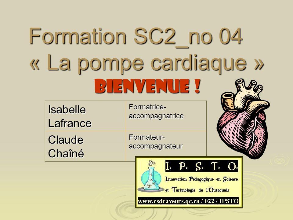 Formation SC2_no 04 « La pompe cardiaque »