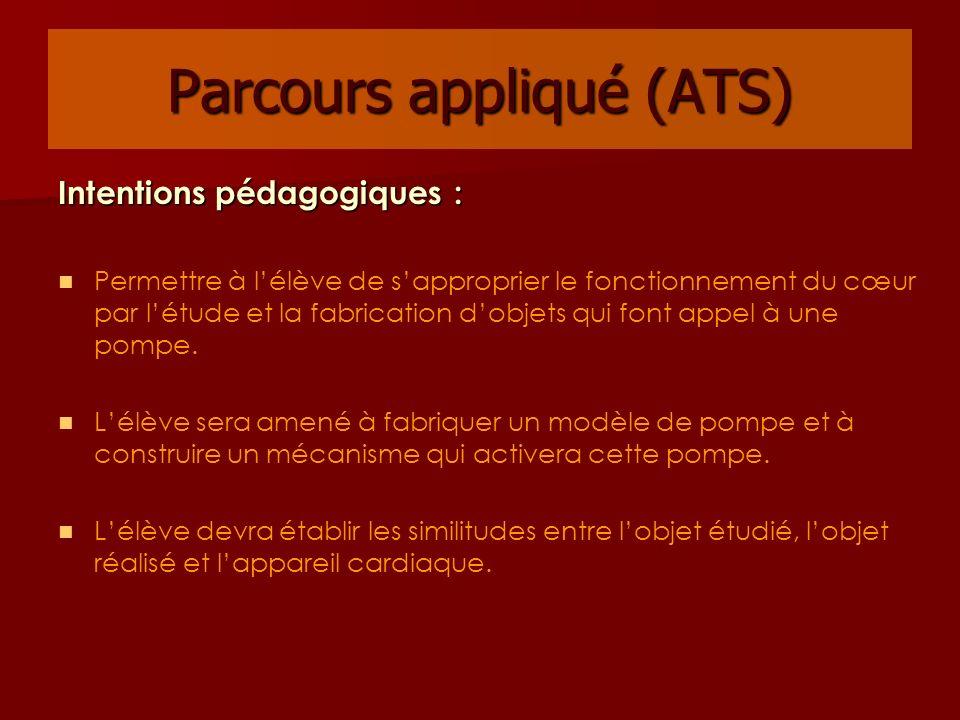 Parcours appliqué (ATS)