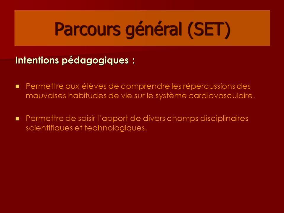 Parcours général (SET)