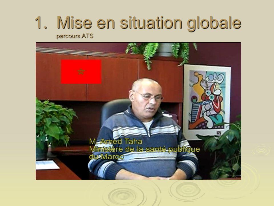 Mise en situation globale parcours ATS