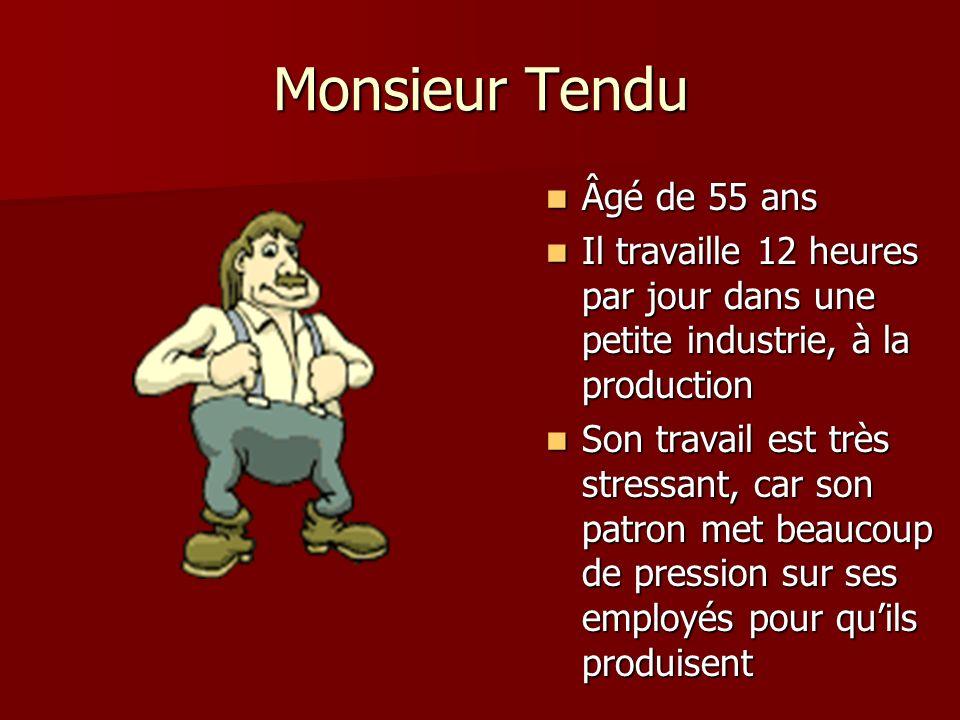 Monsieur Tendu Âgé de 55 ans