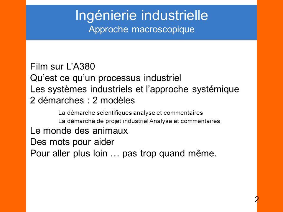 Ingénierie industrielle