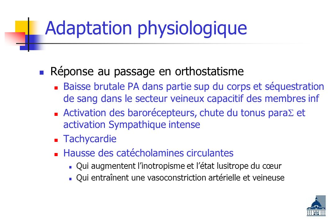 Adaptation physiologique