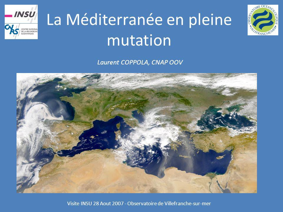 La Méditerranée en pleine mutation