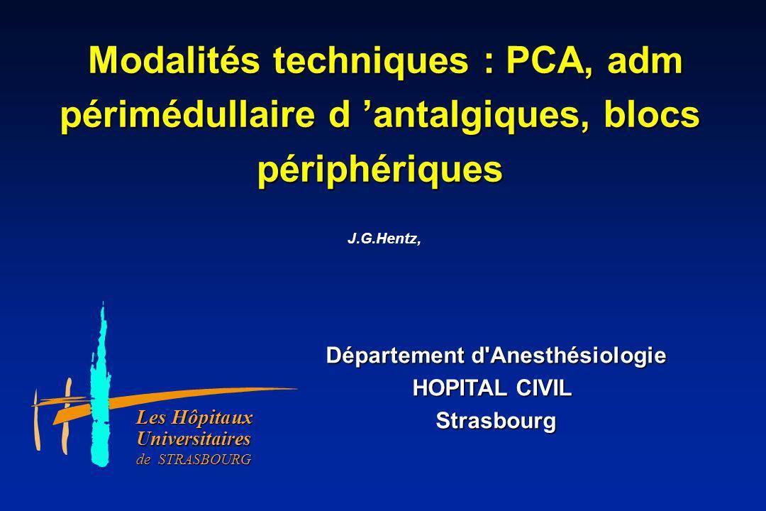 Département d Anesthésiologie