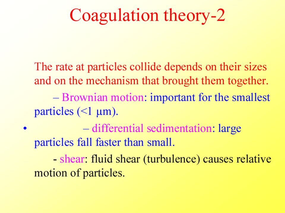 Coagulation theory (2) DEEM2011