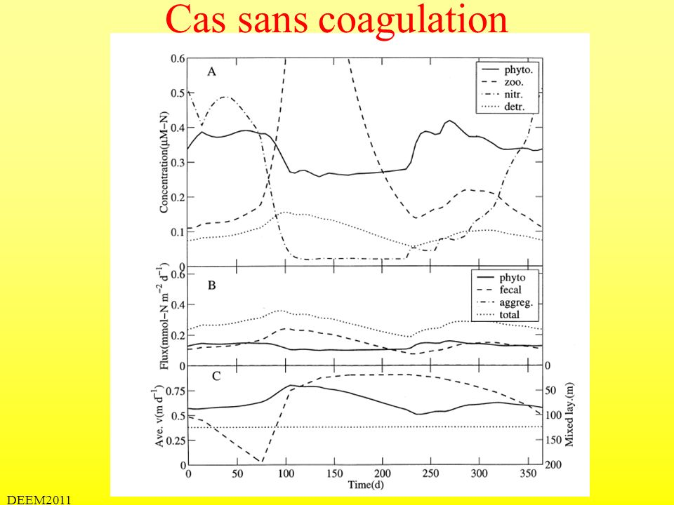 Cas sans coagulation DEEM2011