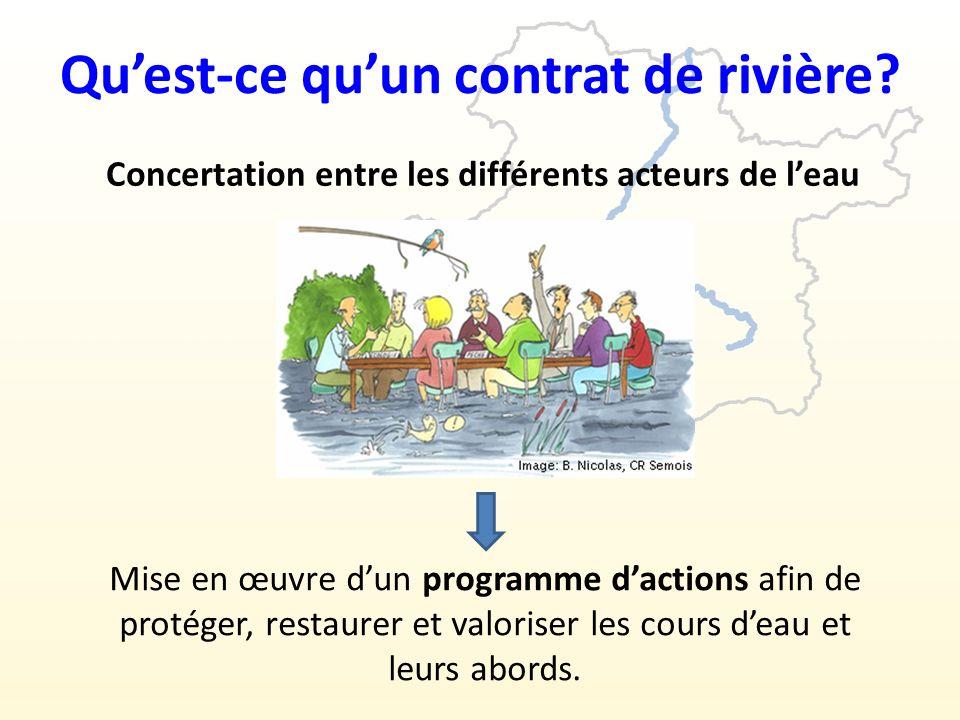 Qu'est-ce qu'un contrat de rivière